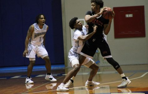 ECC men's basketball team lose home opener to Los Angeles Pierce College