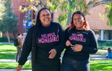 Jazmin Anderson, left, 20, biotechnology major and China Oseguera, right, 19, public health major started their Instagram page on Oct. 22, 2018, to bring awareness to their community on the rising issue of homelessness. Rosemary Montalvo/The Union