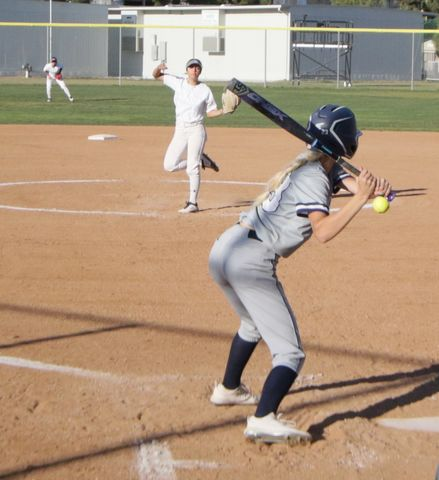 ECC softball team earned its fifth conference win over Cerritos College