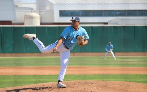 ECC baseball team beats Cerritos College in pitching duel