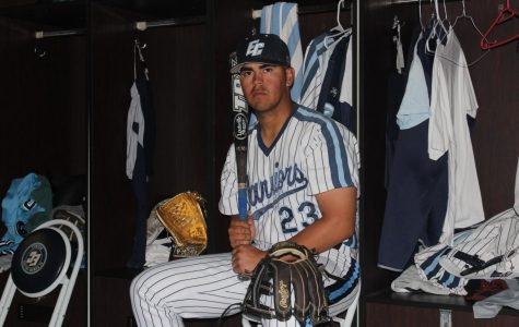 El Camino College baseball infielder Diego Alarcon intends on repeating success found in his freshman campaign. Alarcon won the Rawlings Gold Glove for being the best defender at second base. Kealoha Noguchi/The Union