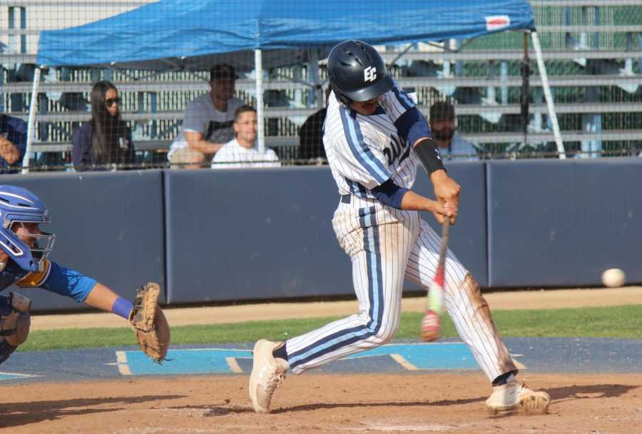 ECC baseball team rallies back to take season series from Los Angeles Harbor College
