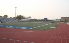 El Camino College's Featherstone Field, housed within EC's Murdock Stadium, quietly awaits the return of EC's athletes and fans kept away due to campus's closure. Image taken Sept. 16.