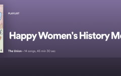 'Happy Women's History Month': Quarantunes edition 12