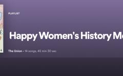 'Happy Women's History Month': Quarantunes edition 12