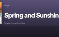 'Spring and Sunshine': Quarantunes edition 13