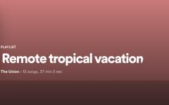 'Remote tropical vacation': Quarantunes edition 14