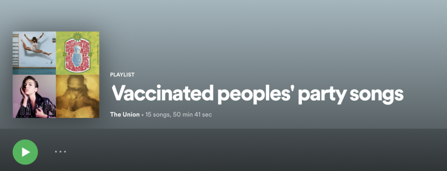Vaccinated peoples party songs: Quarantunes edition 16