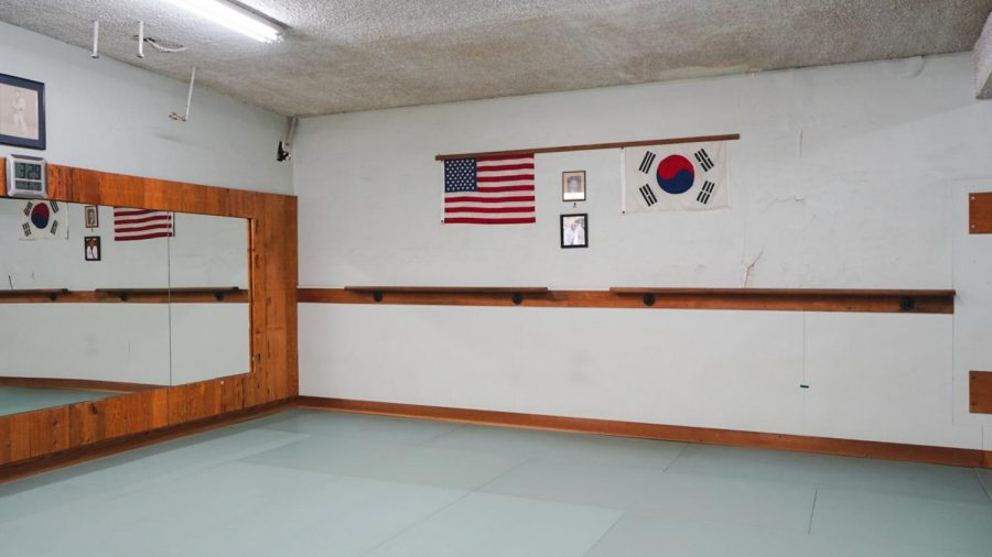 Fred the owner of the South Bay Moo Duk Kwan introduced me to their dojo where Fred and Mits Yamashita once trained on Wednesday May 4,2021 in Torrance, California.