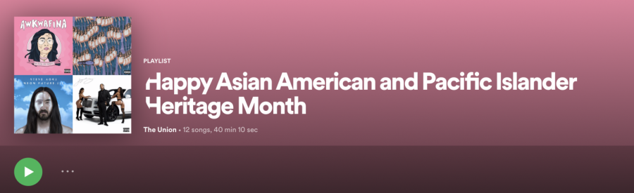 Happy Asian American and Pacific Islander Heritage Month: Quarantunes edition 17