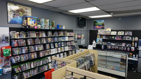Classic Controller has a variety of rare collectibles, from video games to comic books. The store offers a wide selection of retro video games. Gardena, CA. (Photo by Manuel Guzman/ Warrior Life)