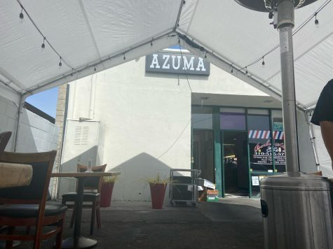 Azumas is one of many restaurants that had a difficult time during the pandemic. Azumas is known and loved by many Gardena residents. Azuma's is currently offering outdoor seating due to the pandemic