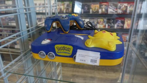 A rare Pokemon Nintendo 64. The store offers a variety of collectible items. Torrance, CA. (Photo by Manuel Guzman/ Warrior Life)