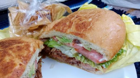 Padrino's Taqueria's neatly layered Torta de Carnitas will not disappoint. This gem is worth trying by anyone looking to venture beyond tacos and burritos.