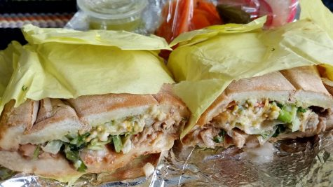 Pancho's Taco's juicy Torta de Carnitas is a unique treat with lots of flavor. You may find yourself wanting to eat it all in one sitting.